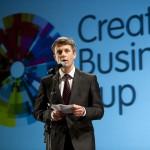 CBC 2012, przemówienie księcia Danii, Fryderyka (fot. Sisse Stroyer)