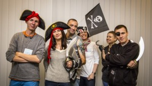 Be Brave Be Crazy Be a Pirate!